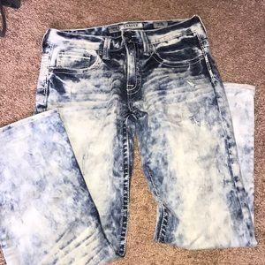 """Men's """"BKE"""" acid washed jeans"""